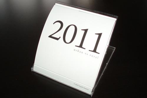calendar in stand