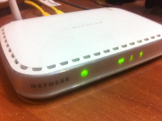 Finally wirefree! Netgear WGR614