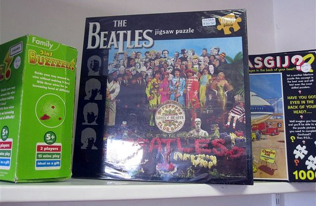 The picture looks much more gay now that the Beatles have produced their new LP by RinkRatz