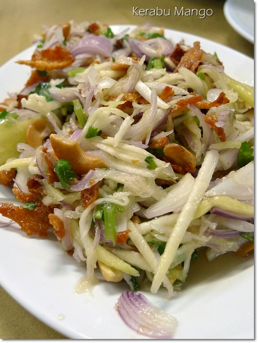 Thai Kerabu Mango