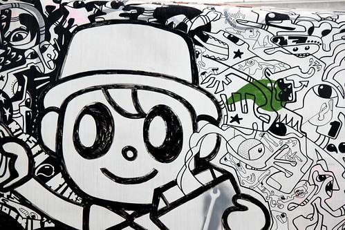 Kleurplaten Van Graffiti.Kleurplaat