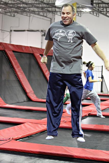 Rob jumps