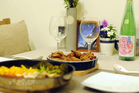 2010跨年夜晚餐