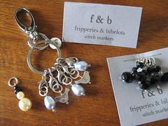 f&b stitchmarkers, stitchmarker holder