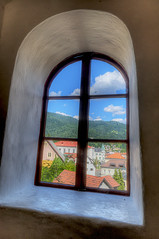 Idrija- trough the castle window (Uros P.hotography) Tags: slod300 nikon d300 sigma 1020 idrija slovenija slovenia hdr photomatix photoshop castle mine mercury wonderful fantastic awesome stunning beautiful brathtaking incredible nice lovely perfect trip travel tourism tourist journey tour turism turist unesco breathtaking excellent superb