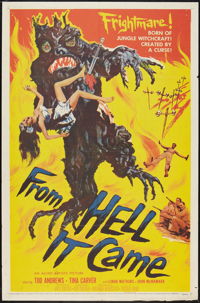 From Hell It Came (Allied Artists, 1957)