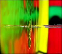 Zapped! [Explored] (-=[Joms]=-) Tags: color reflection art water zapped hs10 hs11 pnsers