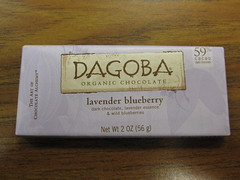 Dagoba Lavender Blueberry