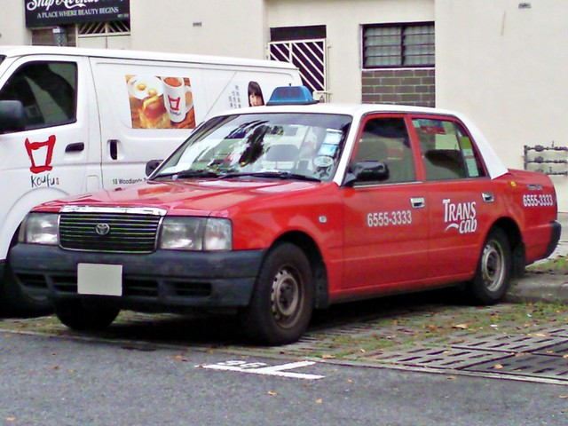 Trans Cab Toyota Crown Taxi