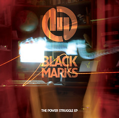 The Black Marks  - The Power Struggle EP packaging
