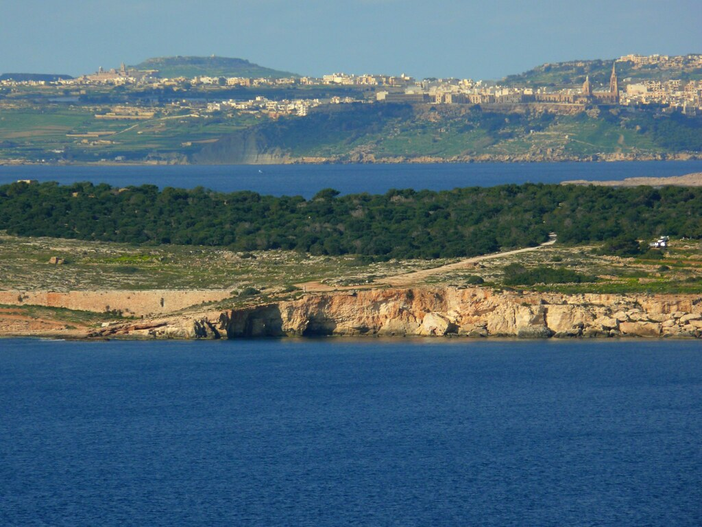 Gozo from Selmun, Malta