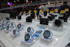 Samsung@CES 2011 (samsungzone) Tags: camera lens samsung ces camcorder 2011 nx100 samsungimaging ces2011 nx11