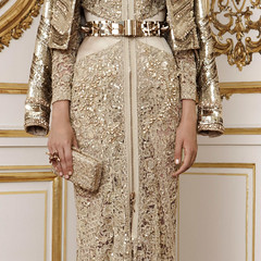 Givenchy F/W Couture 2010.2 (claire-olio) Tags: fashion gold hautecouture beading parisfashionweek givenchy detailshots