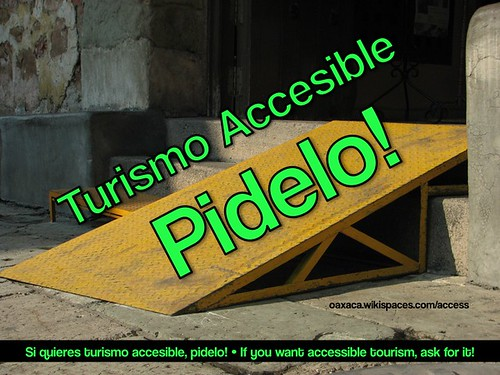 Turismo Accesible: Pidelo!
