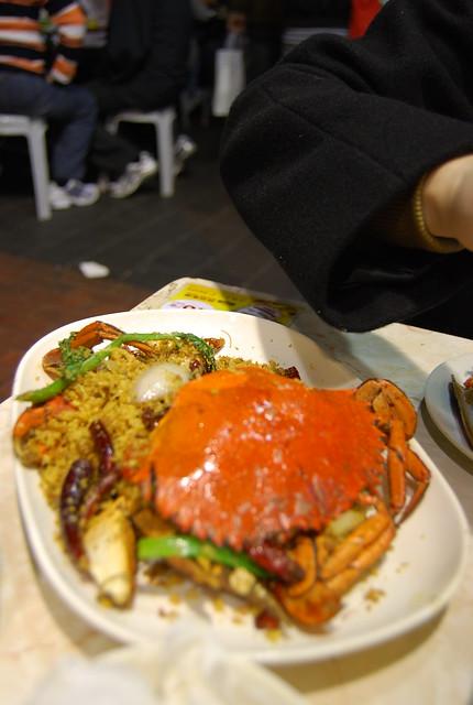 Los míticos cangrejos picantes de la calle Temple de Hong Kong