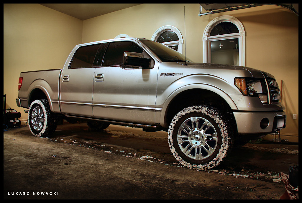 gallery for gt 2014 ford f150 platinum lifted