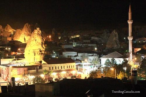 Night Scene - Goreme, Cappadocia