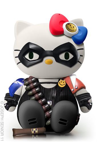 5347416439 08720d56c9 Funny Hello Kitty Mashups by Yodaflicker