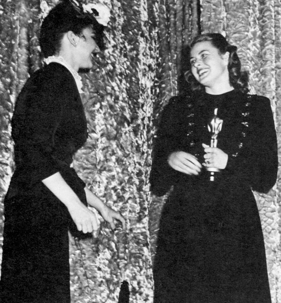 Jennifer Jones and Ingrid Bergman