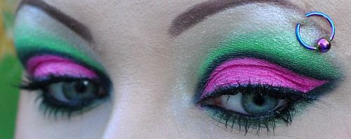Pink and Green 3