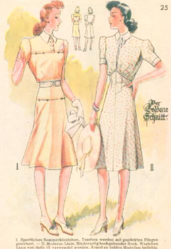 1940's sundress Lutterloh