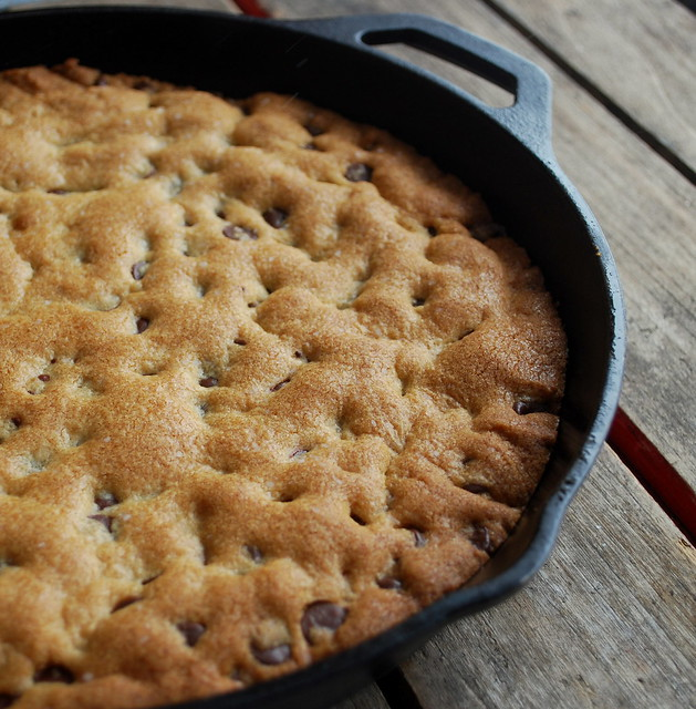 Choc Chip Cookie Cast Iron Skillet 6