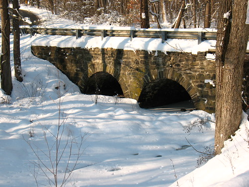 bridge over Rock Brook