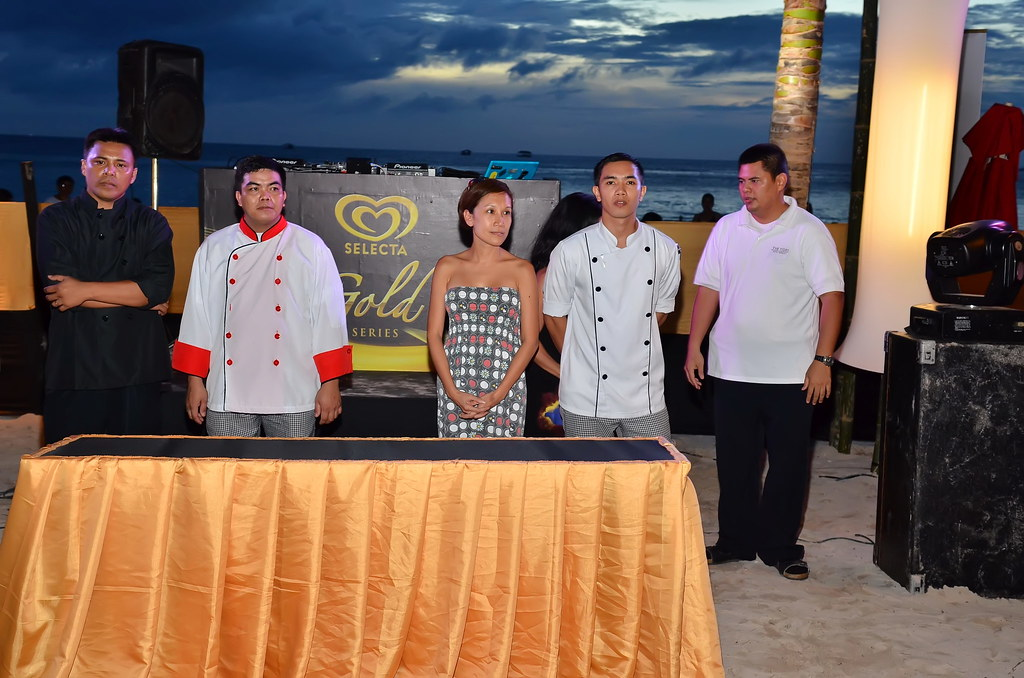 Chefs Compete using Selecta Ice cream