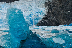 Sawyer Glacier (Christopher DiNottia) Tags: ocean mountains nature alaska glacier tracyarm sawyerglacier