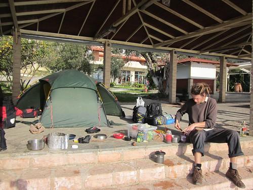 Off season camping