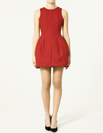 zara tulip dress 1