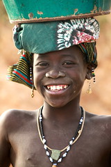 Sirimou (Ferdinand Reus) Tags: africa girl smile niger happy kid little innocent young mali djenne mopti sahel bani sirimou