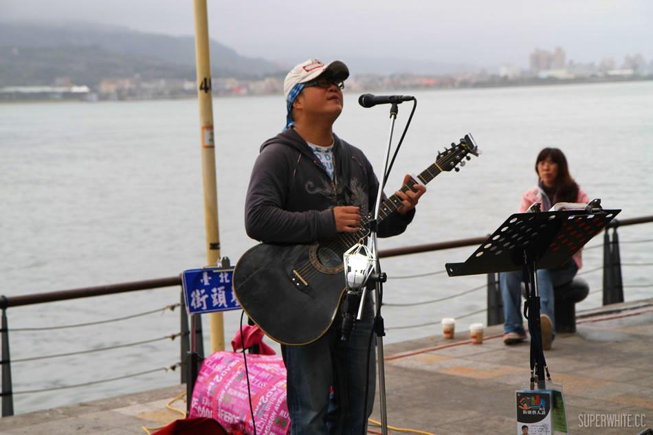 Taiwan Tan Shui 台湾淡水情人桥