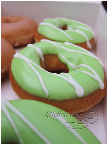 Green Hornet Krispy Kremes