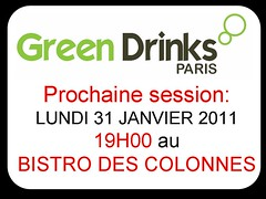 Session GREEN DRINKS PARIS 31 12 2011