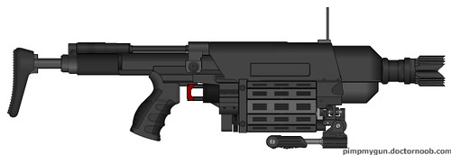 """Es Ti"" Special Purpose Assault Launcher"