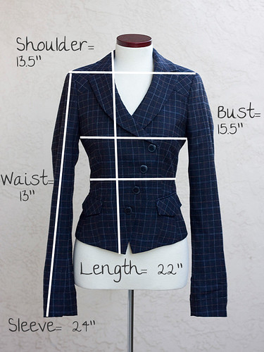Esprit-Jacket-Measurements