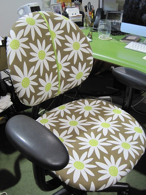 Kim's custom chair cover