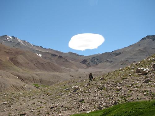 Paisano y nube