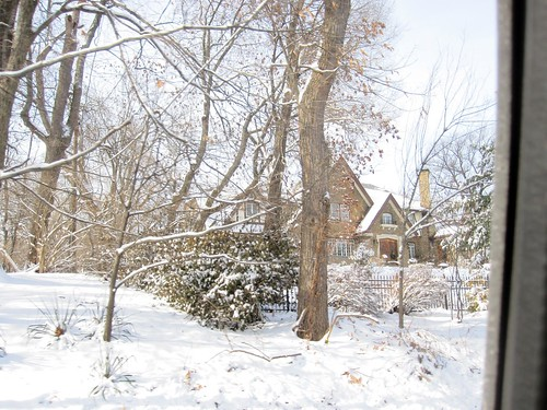 Pretty House in Snow