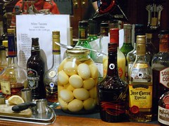 Anyone for pickled eggs? (melita_dennett) Tags: road uk england london beer bar tia real sussex ginger pub brighton britain maria ale east eggs pickled mitre harveys crabbies tequile