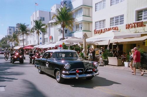 vintage 1955 dodge police car