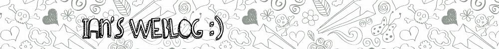 Ian's Weblog