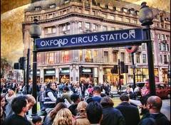 Oxford Circus .. London ..HDR