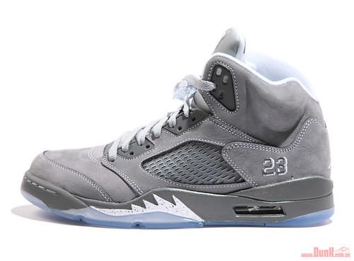 Air Jordan V Retro Wolf Grey colorway