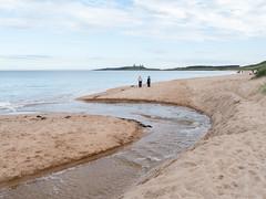 Embleton_1070584 (HJSP82) Tags: 20160924northumberland dunstanburgh coast shore beach stream castle bay sand sea