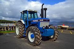 (Zak355) Tags: ford tw15 tractor plough ploughing farm farming bute rothesay isleofbute scotland scottish vintage classic