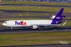 N623FE FedEx MD11F 34L YSSY-7202 (A u s s i e P o m m) Tags: fedex md11f sydney newsouthwales australia au mcdonnelldouglas sydneyairport syd yssy rydgessydneyairport