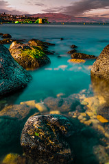 My first Stack Focus Image (David Khundiashvili) Tags: long exposure sea stones sky rocks silky sharp