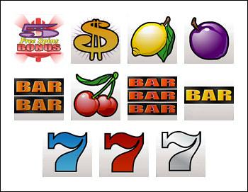free Retro Reels slot game symbols